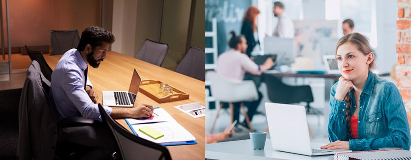 descubra se é melhor montar um escritório ou coworking