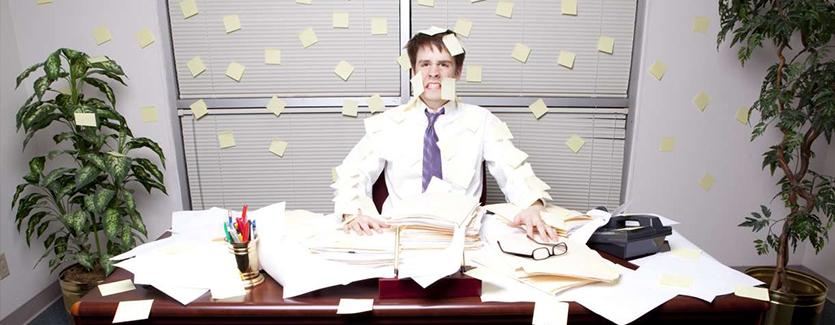 aprenda sobre organização de escritório